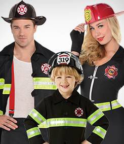 Firefighter Group Costumes