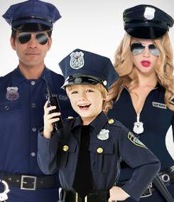 Law Enforcement Group Costumes