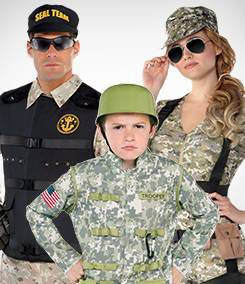 Military Group Costumes