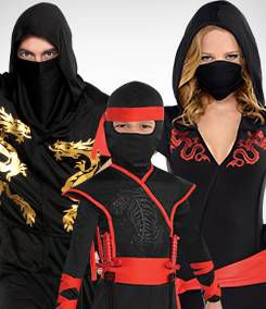 Ninja Group Costumes