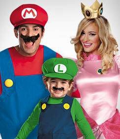 Video Game Group Costumes