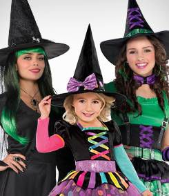 Witch Group Costumes