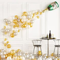 Balloon Champagne Idea
