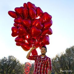 Balloon gift ideas for Valentine's Day