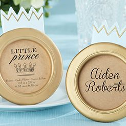 Prince Baby Shower Favors
