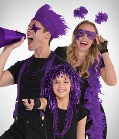 Purple Fan Gear & Accessories