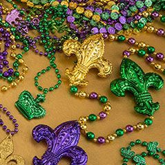 Mardi Gras Beads & Throws