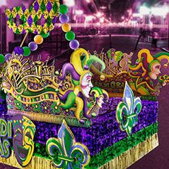 Mardi Gras Parade Float Supplies