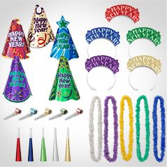 New Year's Eve Colorful Party Kits