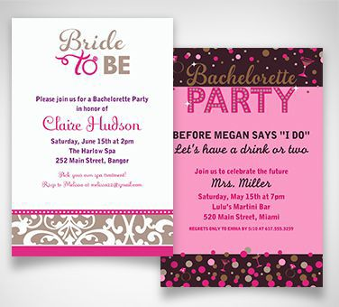 Bachelorette party supplies favors themes bachelorette party bachelorette party invitations junglespirit