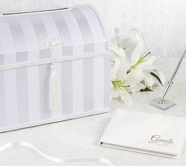Wedding Card Boxes & Guest Books