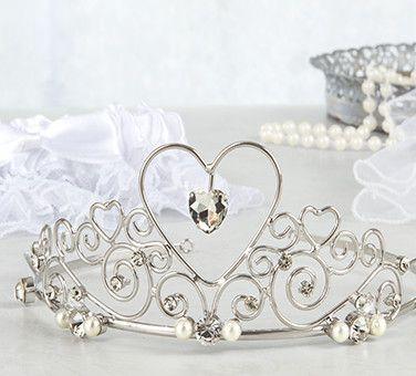 Bridal Tiaras, Veils & Garters