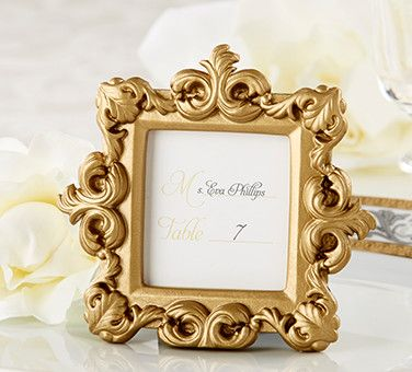 Wedding Place Card Holders & Frames