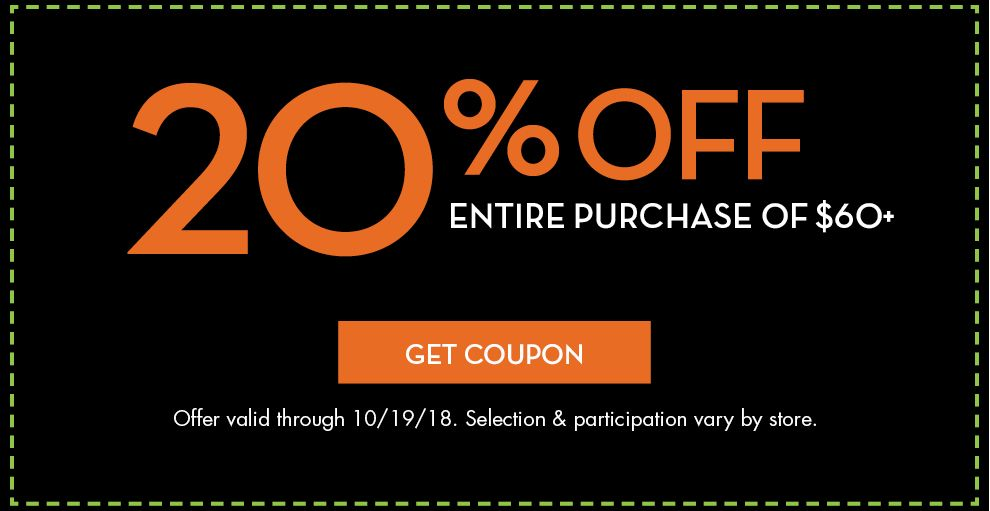 20 off a single halloween item