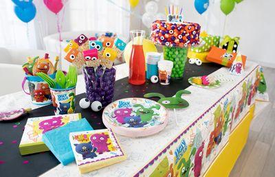 UglyDolls Party Supplies LEGO Birthday Theme