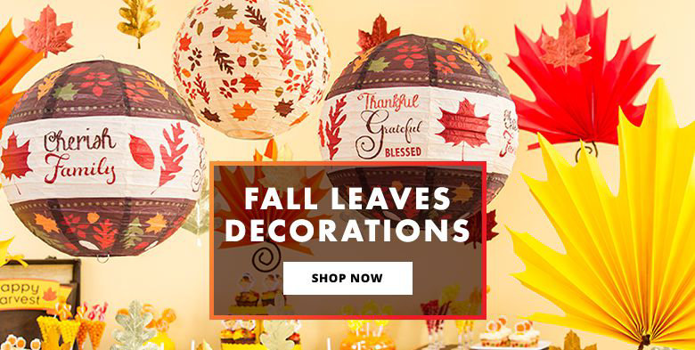 Fall Leaves Decorations Shop Now