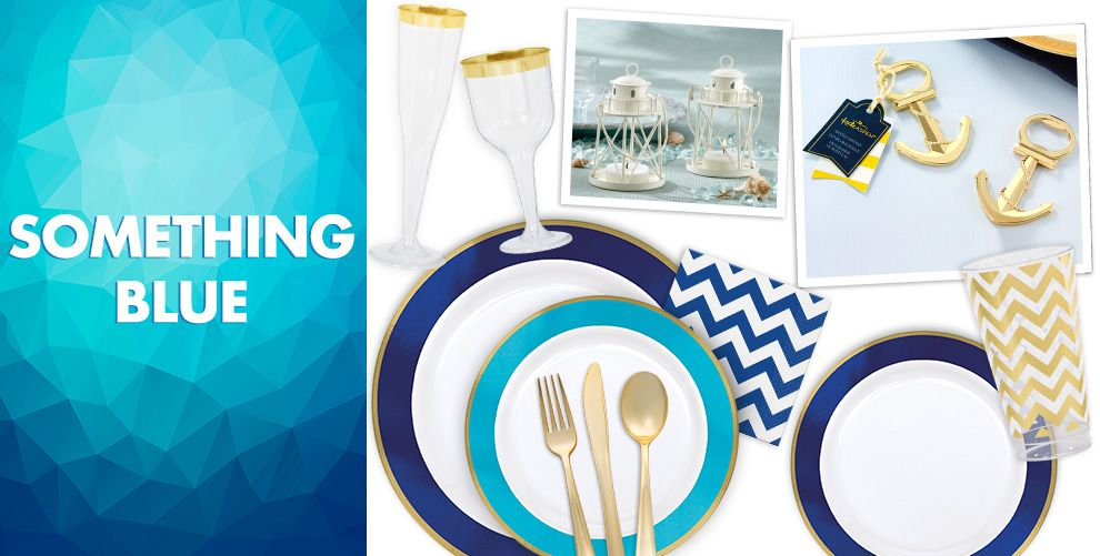 Shades of Blue Wedding Supplies | Party City